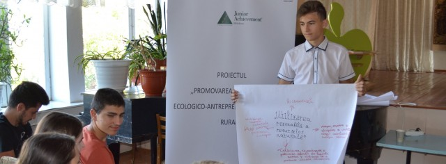 Promoting ecological-entrepreneurship activities in rural areas