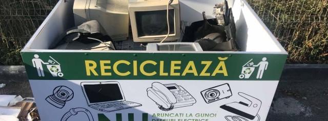 Создание сети сбора электронных отходов путем запуска кампании «Чистый город с рециркулированными э-отходами»
