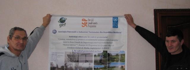 """Crearea, restabilirea și protecția ecosistemelor seminaturale și spațiilor verzi în Zona Umedă de Importanță Internațională Ramsar """"Nistrul Inferior"""""""