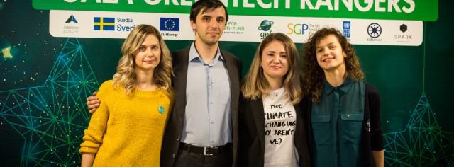 GreenTech Rangers - Accelerator pentru start-up-uri de sustenabilitate