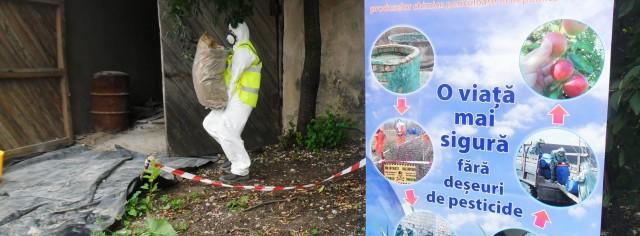 Eliminarea stocurilor de pesticide neutilizate, învechite și interzise în comuna Calfa