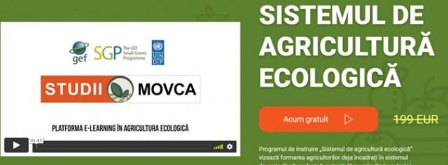 Portal Educațional E-learning în Agricultura Ecologică
