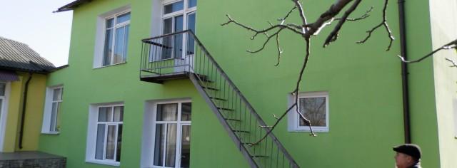 Выполнение энергоэффективности на внешних стенах и строительство твердого теплового котла по производству биотоплива в детском саду Прикиндел в селе Бушила Унгенского района